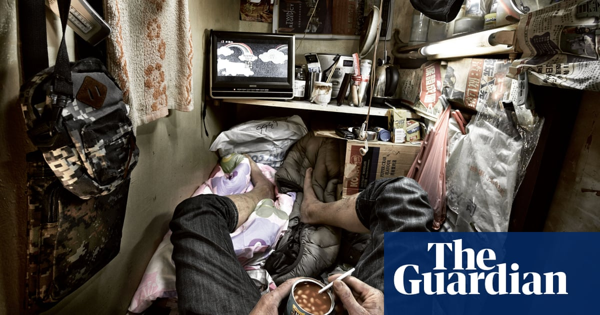 Boxed in: life inside the 'coffin cubicles' of Hong Kong