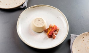 'No place for pastry work': panna cotta.