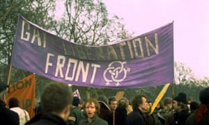 A Gay Liberation Front demonstration, London, 1971