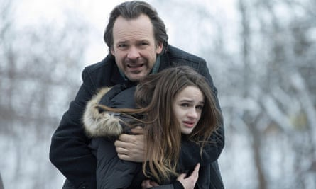 Sarsgaard with Joey King in The Lie.