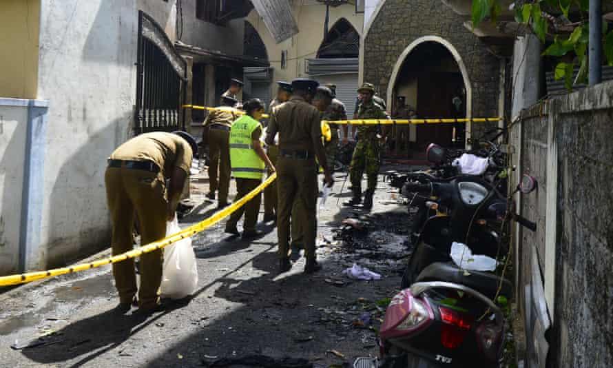 Sri Lankan investigators
