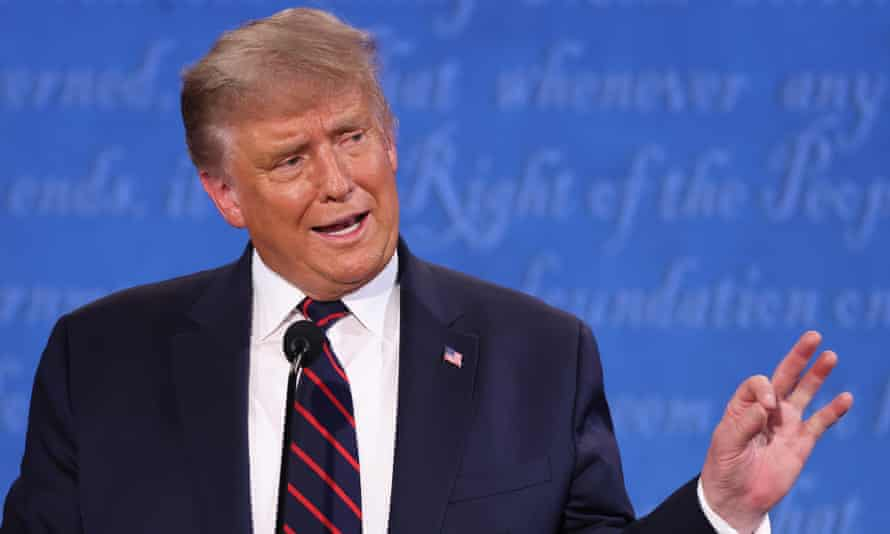 During the debate on Tuesday night, Trump sidestepped the question on white supremacists and equated them with 'leftwing' violence.