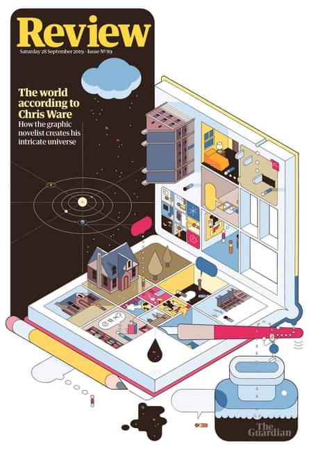 The exclusive Review cover designed by Chris Ware