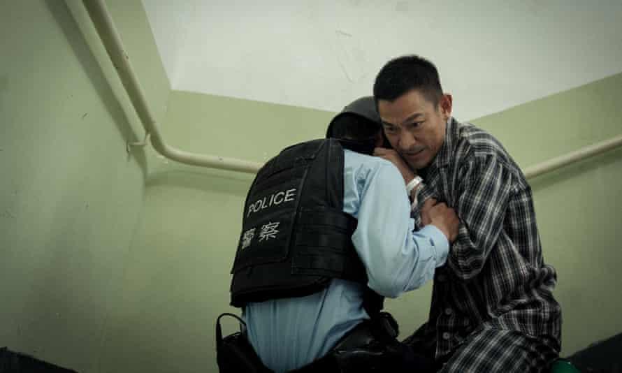 Andy Lau in Shock Wave: Hong Kong Destruction.