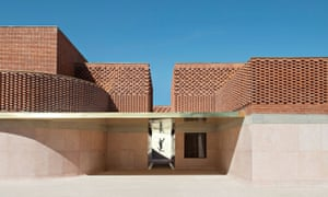 The best architecture award went to the YSL museum in Marrakech, dedicated to the legendary fashion designer