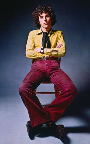 Trevor Key in the 1970s.