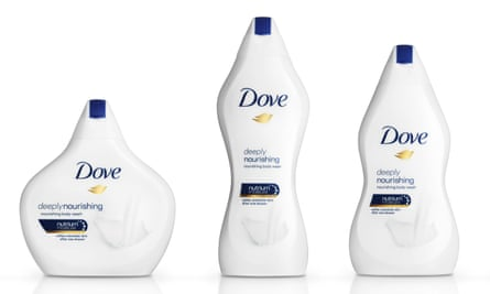 Dove's Real Beauty bottles: the idea of translating different body shapes into plastic is crass.