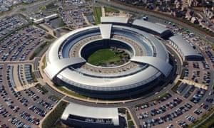 British Government Communications Headquarters (GCHQ) in Cheltenham, Gloucestershire