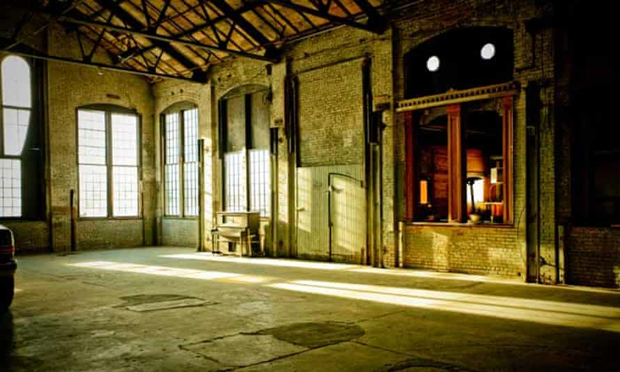 Interior of Basilica Hudson, New York, US