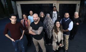 The cast of Muslims Like Us
