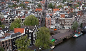 View of Amsterdam