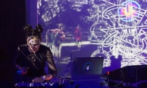 Studies in static … Aisha Devi performs at Wysing Polyphonic's festival of experiment.