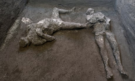 Pompeii dig reveals 'almost perfect' remains of a master and his slave