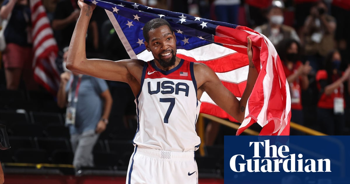 Durant hauls USA men's basketball past France to fourth straight Olympic gold