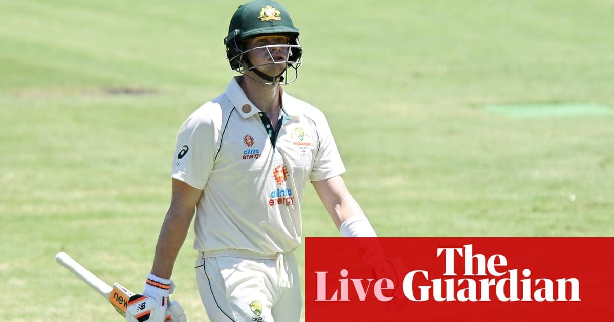 Australia v India: fourth Test, day one – live!