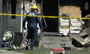 Fire investigators have been working to find the cause of the blaze at the Pennsylvania day care centre.