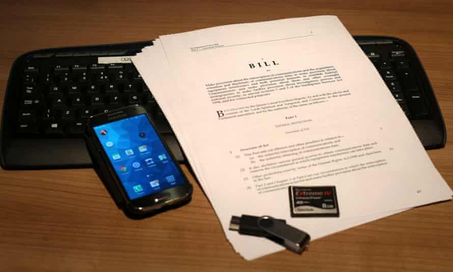 Draft investigatory powers bill