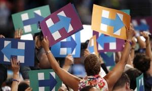 DNC delegates for Hillary