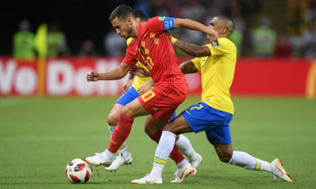 Eden Hazard's World Cup brilliance could have long-term consequences | Jonathan Wilson