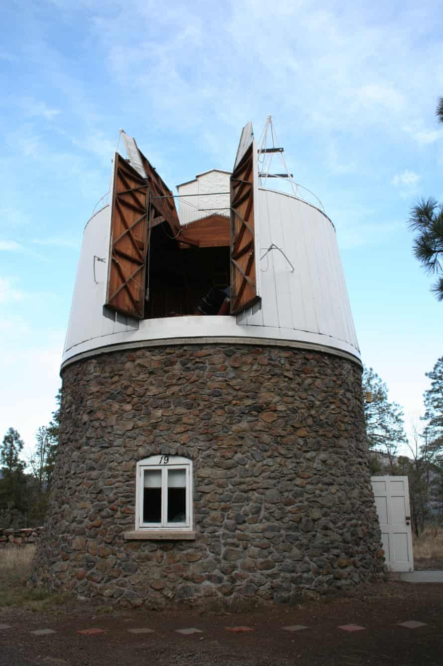 In 1930 astronomer Clyde Tombaugh discovered Pluto using this telescope at the Lowell Observatory in Flagstaff, Arizona.