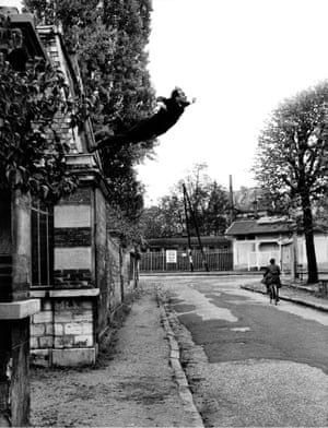 Yves Klein's Leap Into the Void, Fontenay-aux-Roses, 1960.