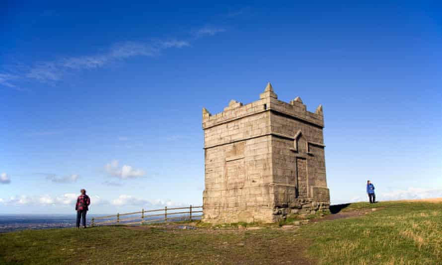 Rivington Pike Tower, Lancashire, UK.