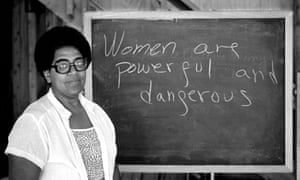 Audre Lorde during her 1983 residency at the Atlantic Center for the Arts in New Smyrna Beach, Florida.