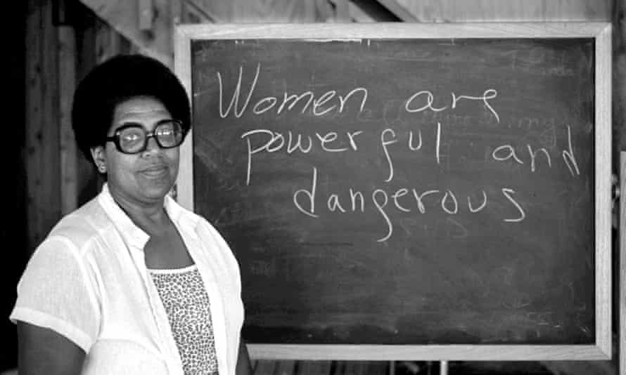 Audre Lord … she inspired a generation of feminists.