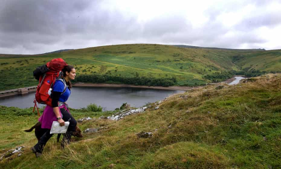 Mary-Ann Ochota walks Dartmoor with her dog in search of the UK's lost history.
