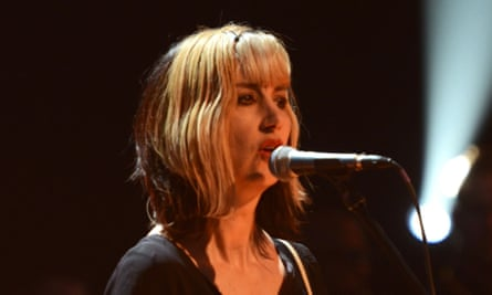 Kim Shattuck playing with Pixies on Later with Jools Holland, September 2013.
