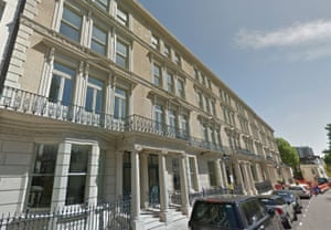 Victoria Road in Kensington, home to some of the richest people in the country.