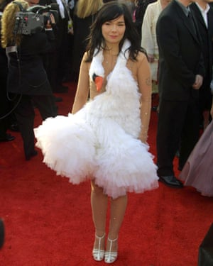 The Oscars dress that everyone remembers …