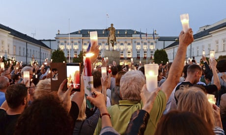 The Guardian view on Poland's courts: people power and a glimmer of hope