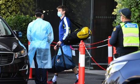 Australia news live: NSW, Victoria and Queensland report no new Covid cases; Tennis Australia will pay for quarantine