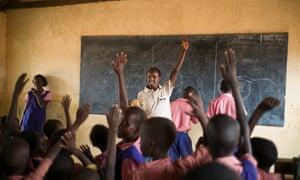 schoolchildren Nasuulu
