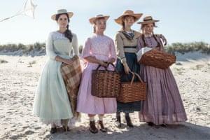 Emma Watson, Florence Pugh, Saoirse Ronan and Eliza Scanlen in Greta Gerwig's Little Women.