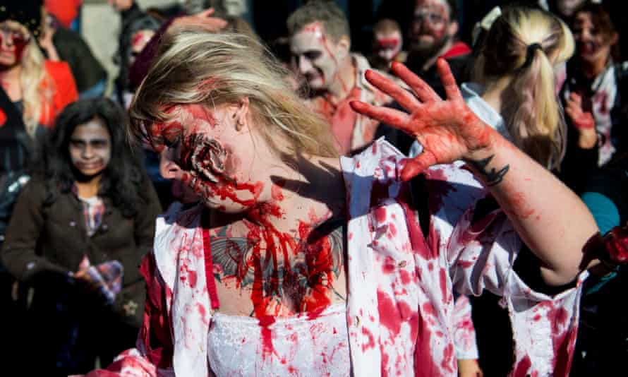 'Isn't Halloween supposed to be about people emulating the thing they fear most?'