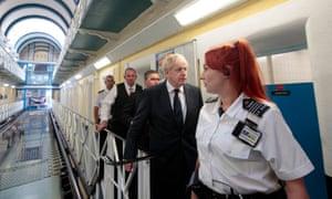 Boris Johnson visits HMP Leeds
