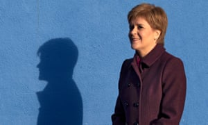 Nicola Sturgeon during a visit to the Shed, a Climate Challenge community project at North Edinburgh Arts.