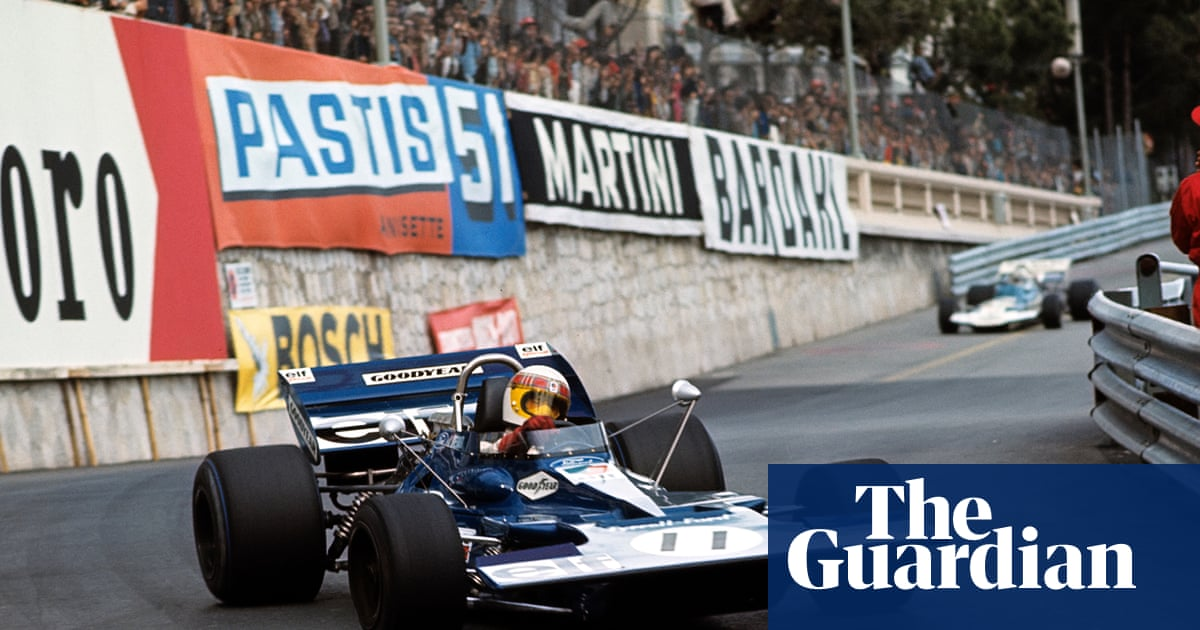 Jackie Stewart's Weekend of a Champion embodied Monaco glamour