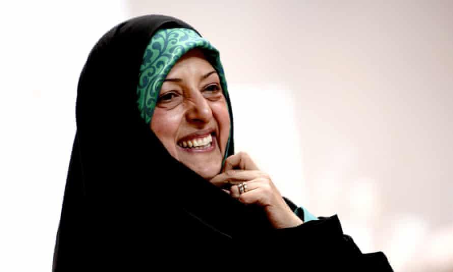 Masoumeh Ebtekar, one of Iran's vice-presidents.