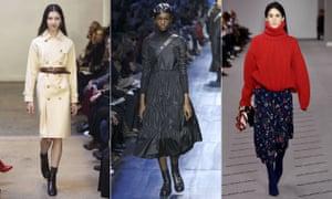 Athleisure no more … APC, Christian Dior and Balenciaga.