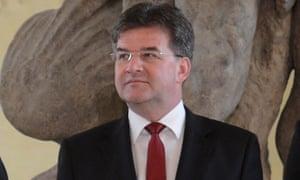 Slovakian foreign minister Miroslav Lajčák