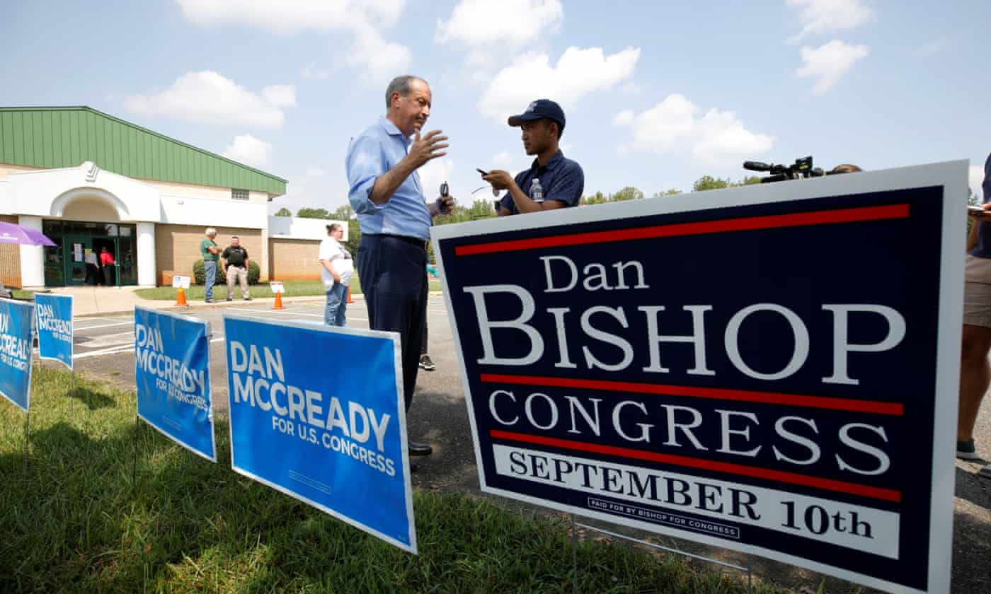 Republicans play down expectations in North Carolina House race – as it happened