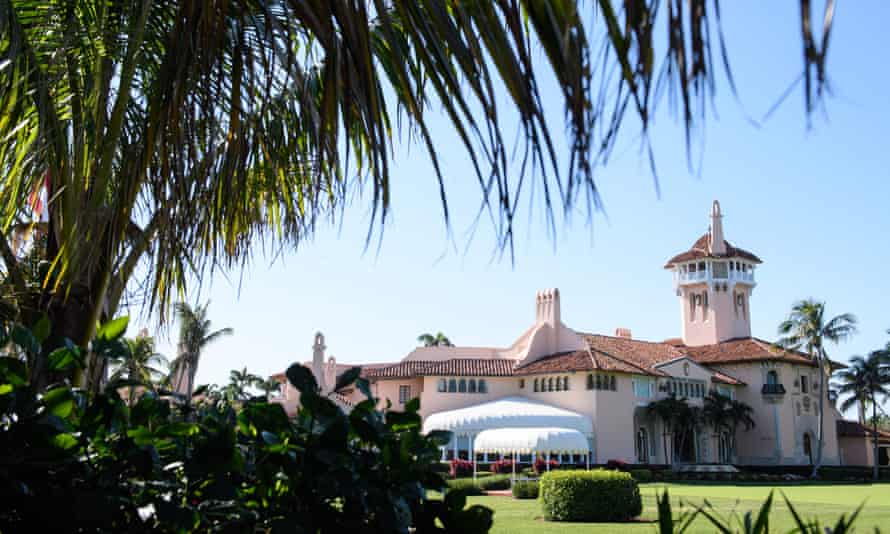 Trump's Mar-a-Lago resort in Florida, where he is scheduled to speak on Saturday.