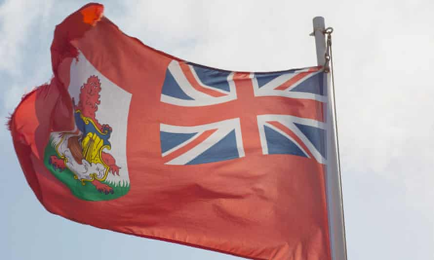 Bermuda flag in Sandy's Parish. Bermuda's parliament has voted to ban same-sex marriage.