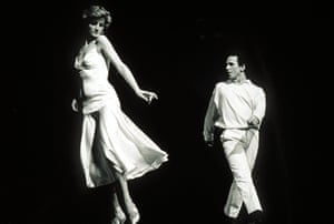 Diana, Princess of Wales dancing with Wayne Sleep