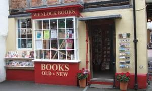 Wenlock Books in Much Wenlock, Shropshire.