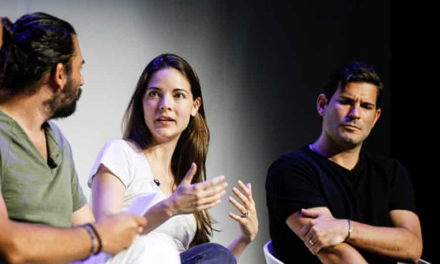 The Future of Modern Storytelling and New Media panel at Cannes Lions.