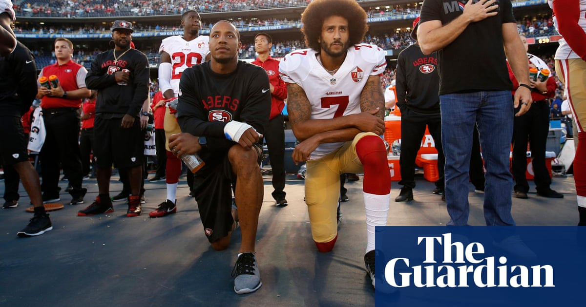ee4a91ed Kaepernick's anthem protest is perfect way to highlight America's race  problem   Sport   The Guardian